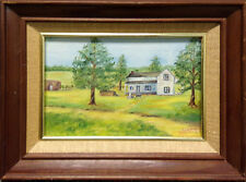 Mitchell Original Oil Painting white House Hand Signed Make an Offer!!