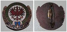 Emaillierte Broschen-Anstecknadel Schützengilde EBEN TIROL 1882 - 1977