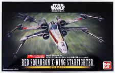 Bandai Star Wars Red Squadron X-Wing Star Fighter 1/72 & 1/144 2 Models USA