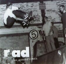 Various : Rad - The Soundtrack (CD 1998)  BARGAIN!!  FREE!! UK 24-HR POST!!