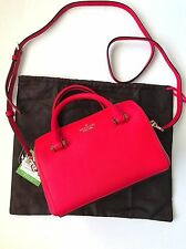 Kate Spade NY Rooster Red Leather Cameron Street Lane Mini Satchel PXRU7182 NWT