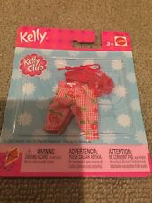 Lot Of BARBIE KELLY  DOLL CLOTHING OUTFIT SHOES New Cherry Red Pants