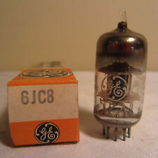 GE General Electric 6JC8 Electronic Vacuum Tube In Box NOS