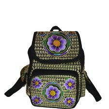 Genuine embroidered vintage tribal BOHO backpack handbag office bag