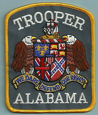 ALABAMA STATE TROOPER POLICE PATCH