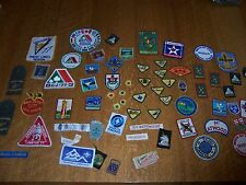 Vintage Lot of Boy Scout Merit Badges Canada, World Jamboree, Contingent Patches