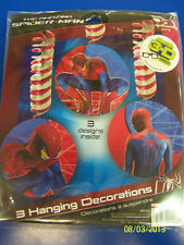 The Amazing Spider-Man Movie Superhero Kids Birthday Party Dangling Decorations