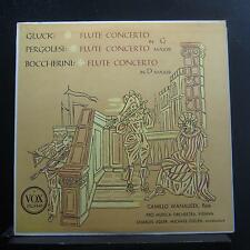 Camillo Wanausek - Gluck Flute Concereto In G LP VG+ PL 9440 1st RVG Record