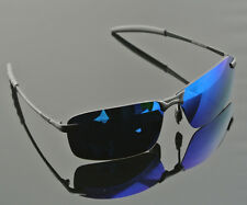 Mens Mirrored Polarized Aviator Sunglasses Cool Driving Glasses Outdoor Eyewear