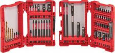 Milwaukee 56pc Shockwave Automotive Impact driver Bit Set w/adapters #48-32-4017