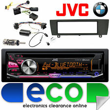 BMW 1 Series e81 e82 e87 e88 JVC CD mp3 USB Bluetooth Auto Stereo & sterzo Kit