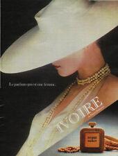 Publicité  Advertising IVOIRE de Pierre Balmain