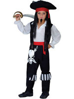 Captain Blackheart Outfit Fancy Dress Costume Kids Jake And The Neverland Pirate