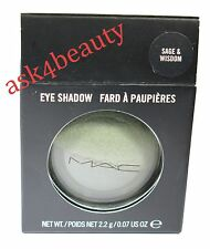 Mac Eye Shadow (Sage & Wisdom) Fard A Paupieres 0.11 oz/3.4g New In Box