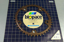 SHIMANO vintage 80's 600EX 42t 3/32 Alloy BioPace Chain Wheel BCD 130mm  BX12