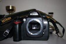 Fotocamera Nikon D70 reflex digitale CF CARD 1GB 2 batterie macchina fotografica