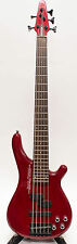 Bass Maniac Designed by Tune Guitar Technology 5 String Bass TBJ51 - Red