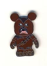 CHEWBACCA STAR WARS VINYLMATION Mystery PIN DISNEY
