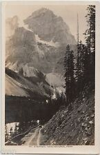 c1920s YOHO NATIONAL PARK Mt Stephen Road Car B.C. Canada RPPC Postcard