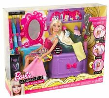 Barbie Hair Tastic Color & Wash Salon Playset NEW V4411