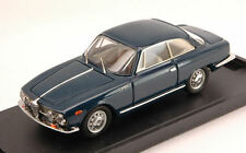 Alfa Romeo 2000 Sprint Street 1960 Blue 1:43 Model BANG