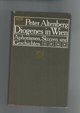 Peter Altenberg - Diogenes in Wien, Band 2 - 1982