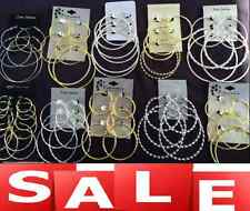 40 Pairs High End Hoop Earrings Wholesale Jewelry Lot ❤️FREE Shipping❤️