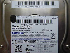 750 GB Samsung HD753LJ / 480311CQ702208 / 2008.07 / BF41-00206B REV5  hard disc