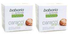 2 Units BABARIA Anti-Ageing Nourishing Gel Face Cream with Snail Extract 50 ml