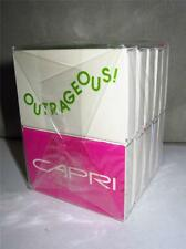 NEW PACK 10 Vintage CAPRI CIGARETTES ADVERTISING MATCHBOXES FROM 1991 LOT