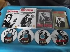 MAX PAYNE & MAX PAYNE 2 THE FALL OF MAX PAYNE PC-CD V.G.C. FAST POST FPS SHOOTER