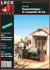 LOCO REVUE 554 DE 1992. COMMENT FAIRE UNE DESHERBEUSE NETTOYEUSE