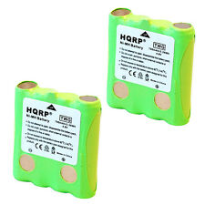 2-Pack HQRP Battery for Cobra FRS305 FRS307 FRS310 FRS315-WX Two-Way Radio