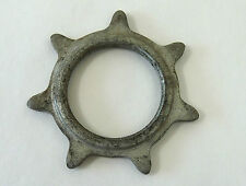 "Track Cog  7T Skip Tooth 3/16"" Steel Vintage Pista Bicycle Fixed Gear NOS"