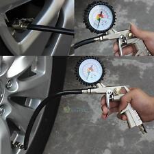 Car Truck Air Tire Pressure Inflator Gauge Professional Dial Meter Teste 220PSI