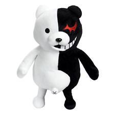 """10"""" Dangan Ronpa 2 Imaichi Mono Kuma bianco & nero Orso Bambola Di Peluche"""