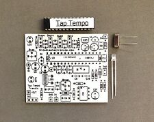 DIY EFFECT PEDAL KIT  *ANALOG TREMOLO WITH TAP TEMPO* PCB AND MORE