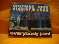 MAXI Single CD SCATMAN JOHN Everybody Jam 4TR 1996 house jazzdance