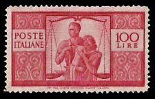 REPUBBLICA 1945 - 100 Lire DEMOCRATICA n. 565 INTEGRO € 575++