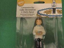 Wilton Communion Boy Cake Decoration