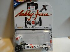 Hot Wheels White Ashley Force Dragster