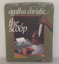 """Agatha Christie VCR Mystery Game - """"The Scoop"""" by Spinnaker"""