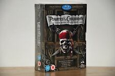 Pirates of the Caribbean 1-4 Blu-Ray Box Set 1 2 3 4 - Brand New Free Shipping