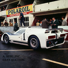 Ford GT40 J Experimental Car paddock 1000 km Nurburgring 1966 -  photo 2