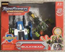 Transformers Energon BULKHEAD Complete Hasbro Figure with box
