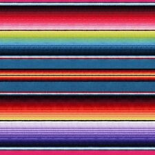 1 yard Fiesta by Elizabeth's Studios Mexican Blanket Stripe 100% Cotton Fabric