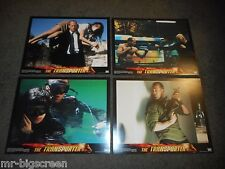 THE TRANSPORTER - ORIGINAL 11 X14 LOBBY CARD SET OF 8 - JASON STATHAM, SHU QI