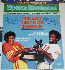 Charles White Billy Sims Signed 16x20 Photo PSA/DNA COA 1979 Sports Illustrated