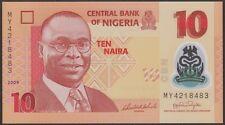 TWN - NIGERIA 39a1 - 10 Naira 2009 UNC POLYMER DEALERS x 5
