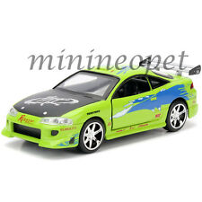 JADA 97609 2001 THE FAST AND FURIOUS BRIAN'S 1995 MITSUBISHI ECLIPSE 1/32 GREEN